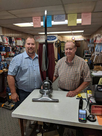 Dave and Jeff of Daves Vac in the Lehigh Valley PA